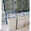 厂家批发镀锌板内胆不锈钢内心果皮箱内桶玻璃钢垃圾桶内筒定制做
