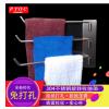厂家直销无痕卫浴毛巾挂杆 一件代发304不锈钢免打孔旋转毛巾架