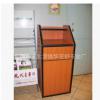 厂价直销麦当劳垃圾桶肯德基果皮箱餐盘回收木制垃圾柜