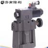 济南隆利低噪音电磁溢流阀SBSG-03-H常开闭插头型液压阀门