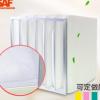中效过滤器静电棉过滤袋无尘室二级过滤系统中效袋式无纺布过滤器