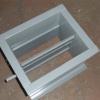 厂家直销铝合金回风百叶窗 双层百叶风口可调出风口批发 可定制