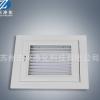 厂家定制门百叶回风窗回风口铝合金百叶窗可开可调百叶窗
