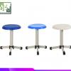 学校实验室家具圆凳学生课桌椅防静电不锈钢PP塑料三脚升降教学凳