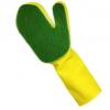 厨房耐百洁布手套洗碗刷锅手套薄款乳胶家务手套浴室清洁海绵手套