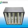 除盐雾专用过滤器 箱式高效空气过滤器 V型高效过滤网 组合式滤网
