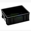 工厂直销环保静电胶箱防静电箱物流箱包装箱胶筐塑胶箩