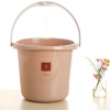 厂家供应塑料水桶手提水桶多规格学生桶 家用PP储水桶彩色水桶