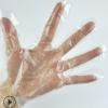 厂家直销100只装一次性手套 塑料美容卫生超加厚PE薄膜防滑手套