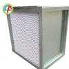 镀锌框有隔板高效过滤器 木框直销有隔板高效空气过滤器定制批发