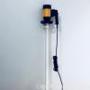 PP材质手提式电动抽液泵HD-E2-V+PPHT-1500流量可调耐酸碱插桶泵
