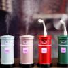 新款创意邮筒加湿器USB充电家用办公室桌面大容量精油加湿器