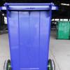 环保环卫设备 可定制0.8/1.0/1.2/1.4带盖带轮带字体户外垃圾桶