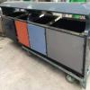 桂林定制户外分类垃圾桶 物业不锈钢垃圾桶环卫垃圾箱室外果壳箱
