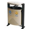厂家直销分类果皮箱 钢制冲孔垃圾桶 环保护卫 室外公共场所专用