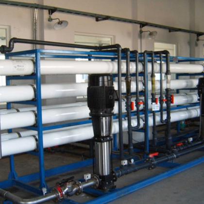 大型工业纯水设备 5T双级反渗透设备 工业纯水机 大型纯水设备