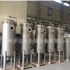 杭州步达供应不锈钢三芯40寸大流量精密过滤器 大通量过滤器 喷砂
