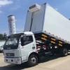 新品上市 复合材料车厢冷藏车 东风大多利卡自卸式冷藏车