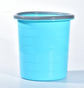 创意客厅厨房垃圾桶 家用无盖办公垃圾篓圆形厕所塑料垃圾桶批发