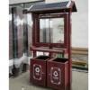 云南高性价比太阳能节能垃圾桶广告灯箱果皮灯箱源头厂家按需定制