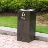 厂家直销 优质户外垃圾桶 环卫环保社区不锈钢垃圾桶 果皮箱定制