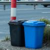 厂家直销分类垃圾桶 户外50L塑料垃圾桶 50l小区广场环卫垃圾桶