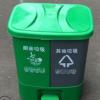 厂家供应40升20升双胞胎连体分类垃圾桶 一桶双用脚踏厨余垃圾桶