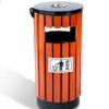 户外垃圾桶果皮箱 钢木垃圾桶 分类垃圾箱室外市政环卫垃圾桶M185