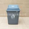 40L环卫塑料垃圾桶 长方形摇盖垃圾桶 四分类小区垃圾桶