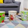 厂家直销创意塑料垃圾桶卫生桶厨房客厅家用时尚纸篓不带盖垃圾筒