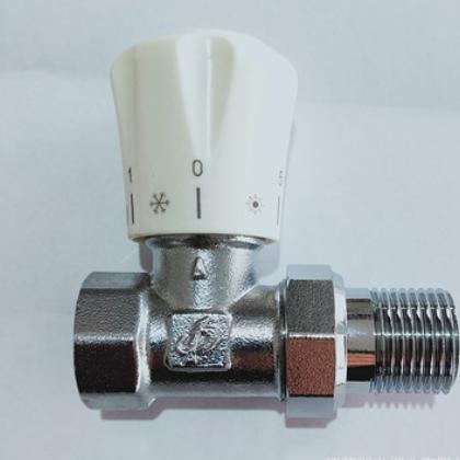散热器专用浙龙手动温控阀暖气片铝塑管量大从优 可定制厂家直销