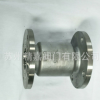 H42W-16P柱塞式止回阀 304不锈钢法兰立式止回阀 多型号阀门批发