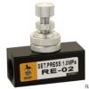 节流阀 RE-01/02气动调速阀流量控制阀调气阀单向节流阀