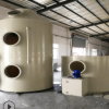 厂家直销垃圾站喷涂厂臭气处理粉尘处理设备水喷淋净化器设备
