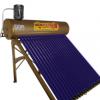 16管160L材质彩钢承压太阳能热水器家用双胆水箱不锈钢支架水箱工