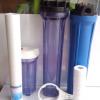 20寸蓝色滤瓶三级过滤器 透明过滤器pp棉滤 4分6分1寸