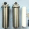 10寸不锈钢过滤器1寸口 1.5寸口单芯螺纹盖过滤器304/316生产批发