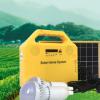 蓝牙MP3 10瓦太阳能家用发电照明系统 户外露营用的太阳能LED灯