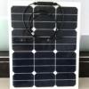 长期供应 35W柔性太阳能板 sunpower柔性太阳能板 户外充电板