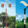 庭院灯 园林景观灯 户外照明 太阳能灯 欧式两头路灯 LED灯具