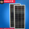 【太阳能发电箱】多晶100瓦广告灯箱电池板太阳能板家用发电系统