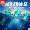 上海人民qy系列油浸泵油浸式潜水电泵充油式排水泵大流量抽水泵