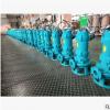 切割式排污泵380V无堵塞污水污物潜水电泵50WQK15-20-2.2