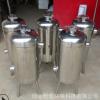 芜湖管道过滤器 不锈钢 硅磷晶水处理配件 饭店用水阻垢硅磷晶罐