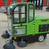 纯电动封闭式扫地车 物业小区专业扫地车扫路车可定制