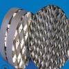 化工填料 金属孔板波纹填料 优质的不锈钢提供好的传质性能