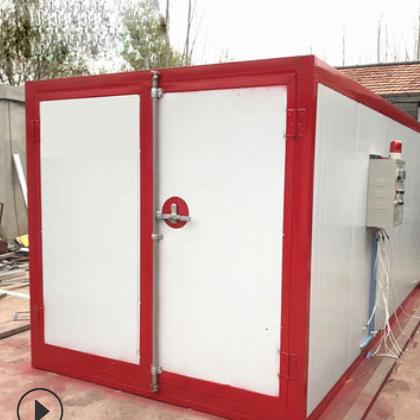 厂家直销高温电加热烤漆房静电喷塑设备高温固化房喷塑设备可定制