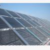 豪光太阳能大型热水工程,太阳能工程联箱,太阳能集热工程模块。