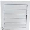 厂家直销铝合金百叶窗风口单层百叶双层百叶排风口自垂百叶风口