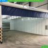 移动伸缩房 厂家直销工业推拉轨道喷漆烤漆房打磨房 移动喷漆房